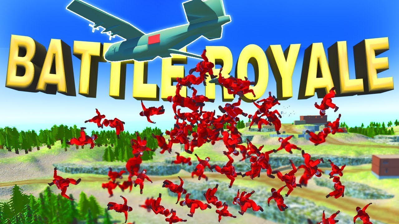 NEW Ravenfield BATTLE ROYALE Mode! BEST Map Ever! (Ravenfield Beta Gameplay)
