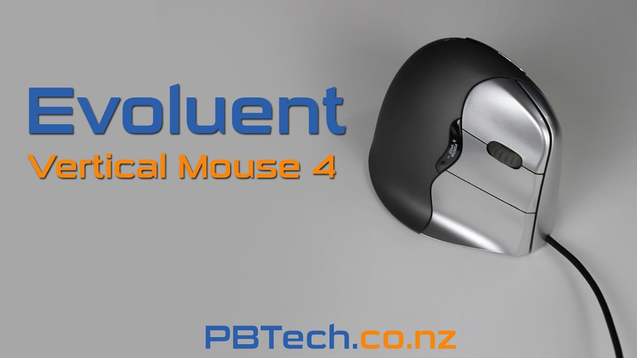 65a4cb4e37c Buy the Evoluent VM4R Wired Vertical Mouse 4 right-handed Truly Ergonomic...  ( VM4R ) online - PBTech.co.nz