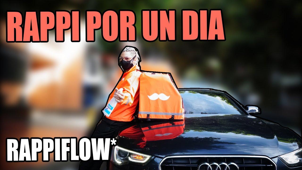 "SIENDO RAPPI en mi AUDI ""RAPPIFLOW"" | PAISAVLOGS"