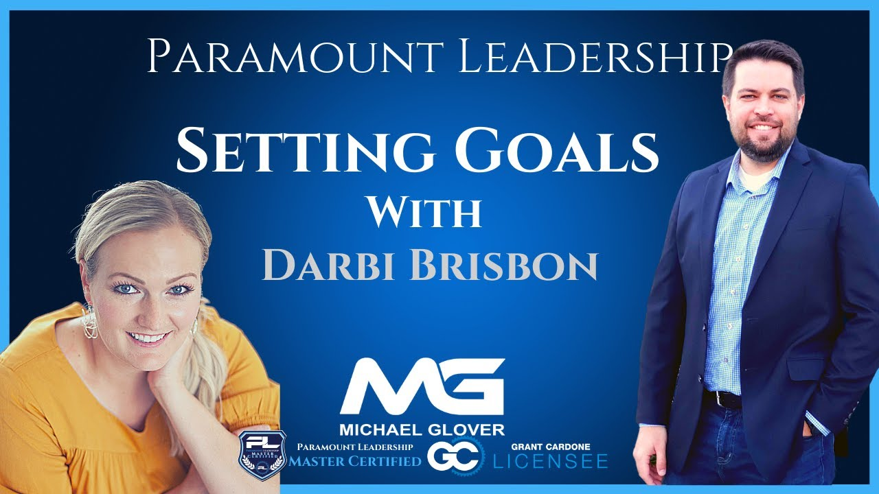 Setting Goals and Life Coaching with Darbi Brisbon
