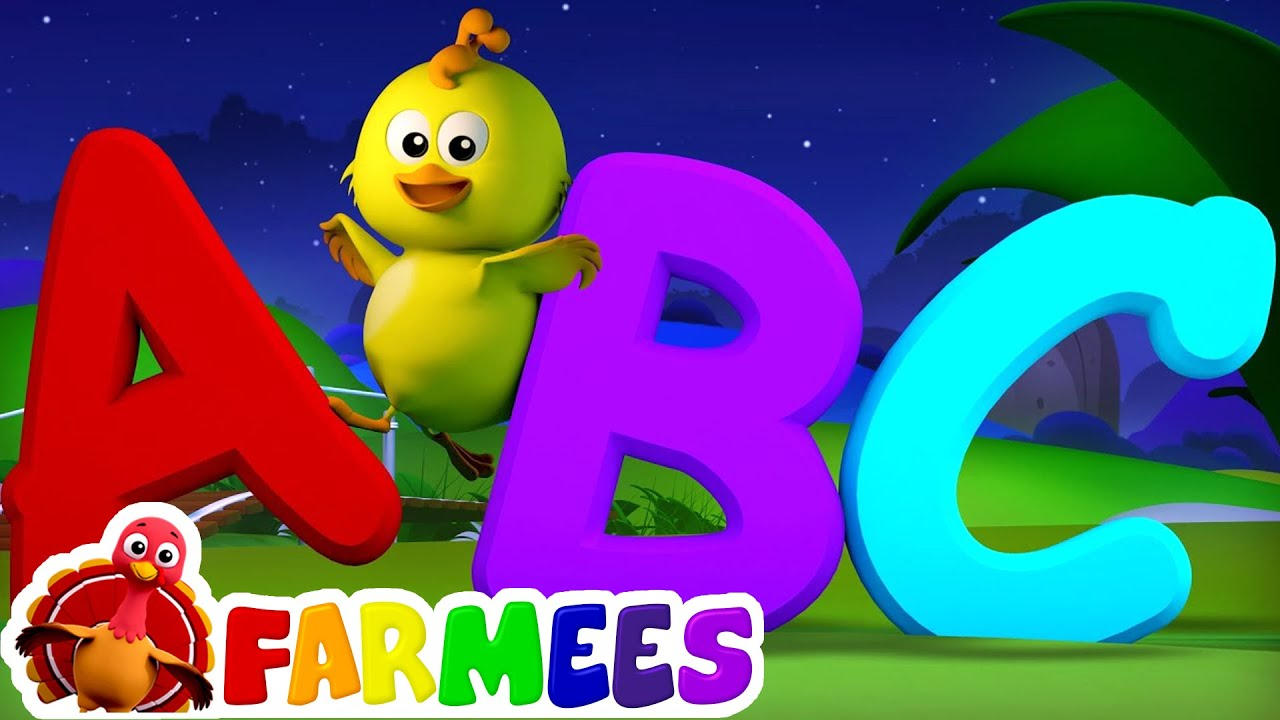Download ABC Song | Nursery Rhymes | 3D Baby Songs | Alphabet Rhyme by Farmees