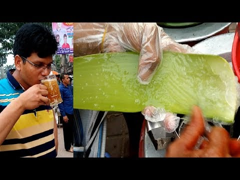 TK 30 Unique & Healthy street food Aloe vera Juice Bengali A