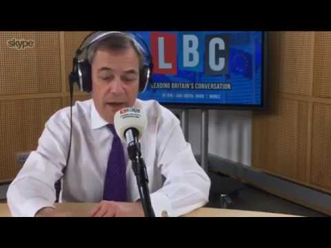 Nigel Farage Discusses His Meeting with Michel Barnier