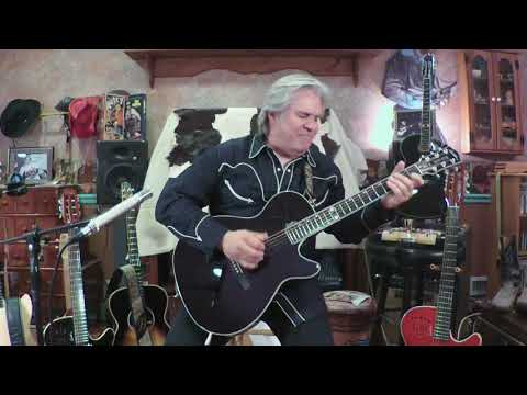 """Jazz in the Box"" (on the new Godin Doyle Dykes Signature Model Multiac guitar)"