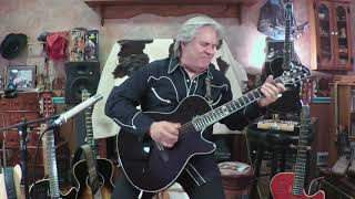 """Jazz in the Box"" (on the new Godin Doyle Dykes Signature Model Multiac guitar)"