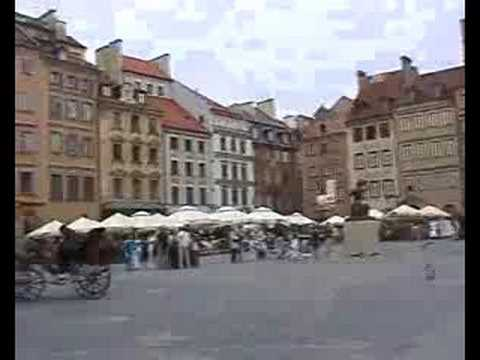 Warsaw, the city of Monuments
