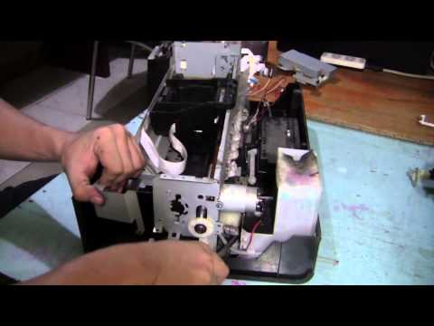 Repair Epson P60 T60 P50 Printer General Error Problem