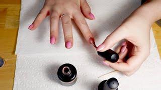 ASMR Gel Nails Application (Soft-Spoken)