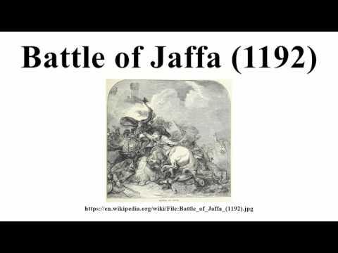 Battle of Jaffa (1192)