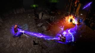 Path of Exile: Purple Arc Skill Effect