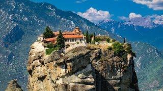 Монастыри в Метеорах, Греция. Meteora monasteries, Greece. Amazing experience