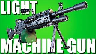 НОВО ОРЪЖИЕ - LIGHT MACHINE GUN   Fortnite