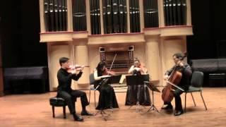 Parker Quartet Performs Haydn Quartet Op.77 No.1