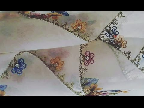 How to do tatting with a needle ?