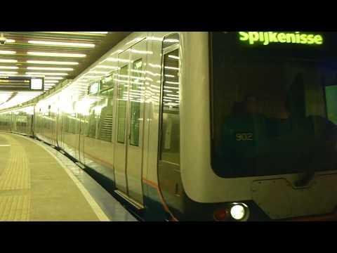 Nieuwe Metro Station: Rotterdam Centraal