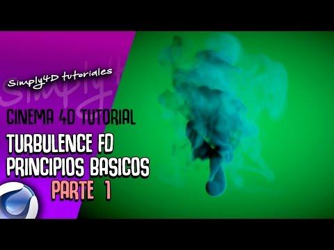 💥🔥TURBULENCE FD PARA CINEMA 4D - PRINCIPIOS BASICOS - parte 1🔥💥