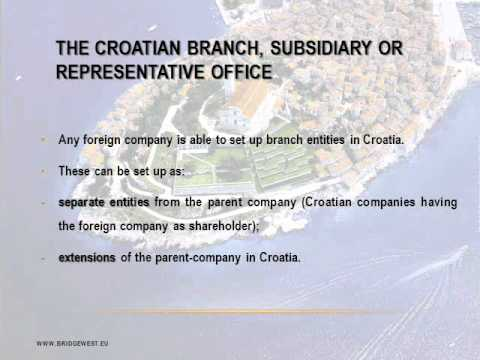 How to Open a Company in Croatia - CompanyFormationCroatia.com BRIDGEWEST