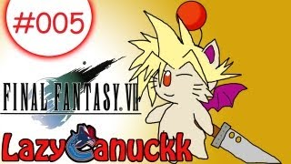 Final Fantasy 7 Gameplay 2012 PC Edition Part 5: Annoying Train Security