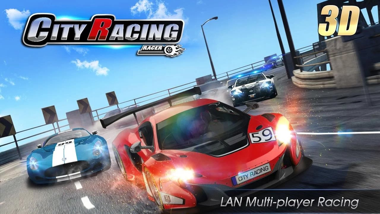 City Racing 3d Car Games Racing Pretend Play Videos Games For