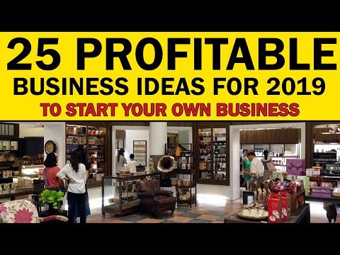 25 Profitable Business Ideas to Start Your Own Business in 2019