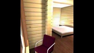 Дом из бруса с банькой в доме