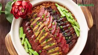 Thermomix® Malaysia Waxed Meat Rice Lap Mei Fan Recipe
