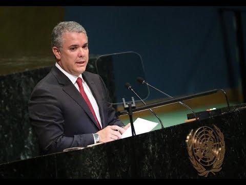 Primer discurso de Iván Duque ante la Asamblea General de la ONU | EL TIEMPO