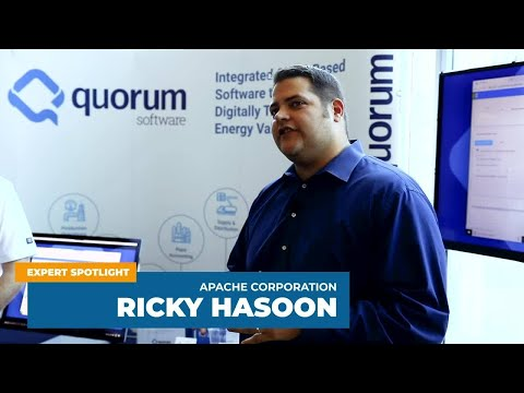 Rick Hasoon Talks About Digitizing Division Order At Apache Corporation