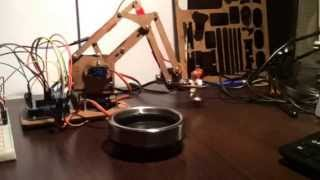 Проект карманного роботизированного манипулятора.
