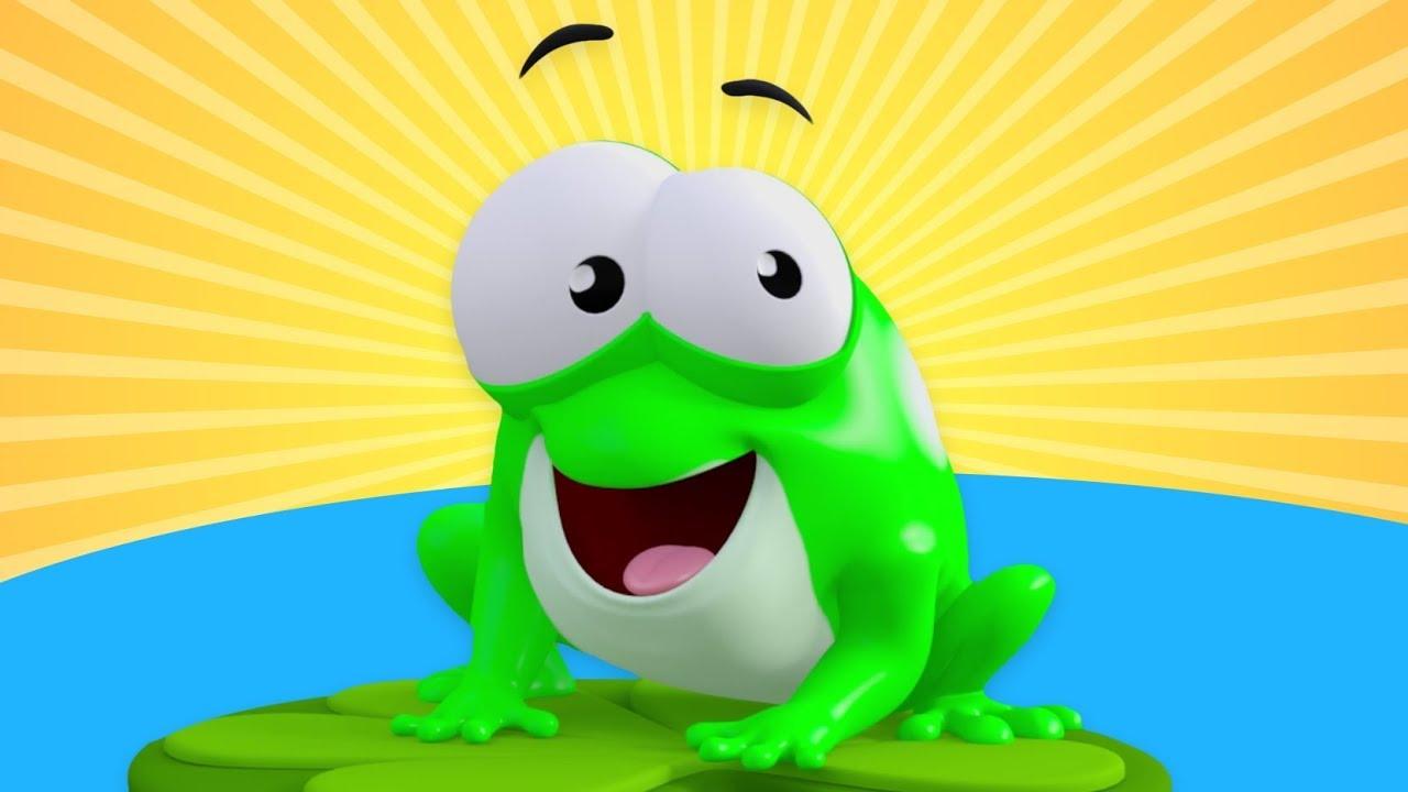 On Küçük Kurbağa   Saymayı Öğreten Çocuk Şarkısı