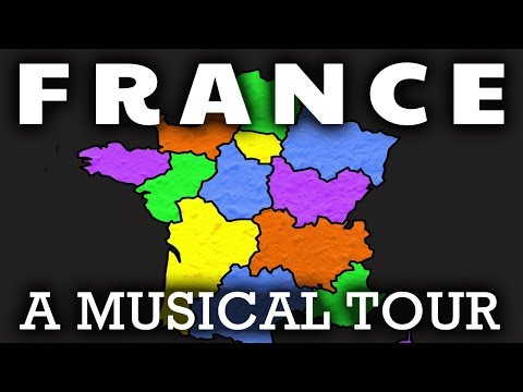 France Song For Kids | Regions of France | French Geography