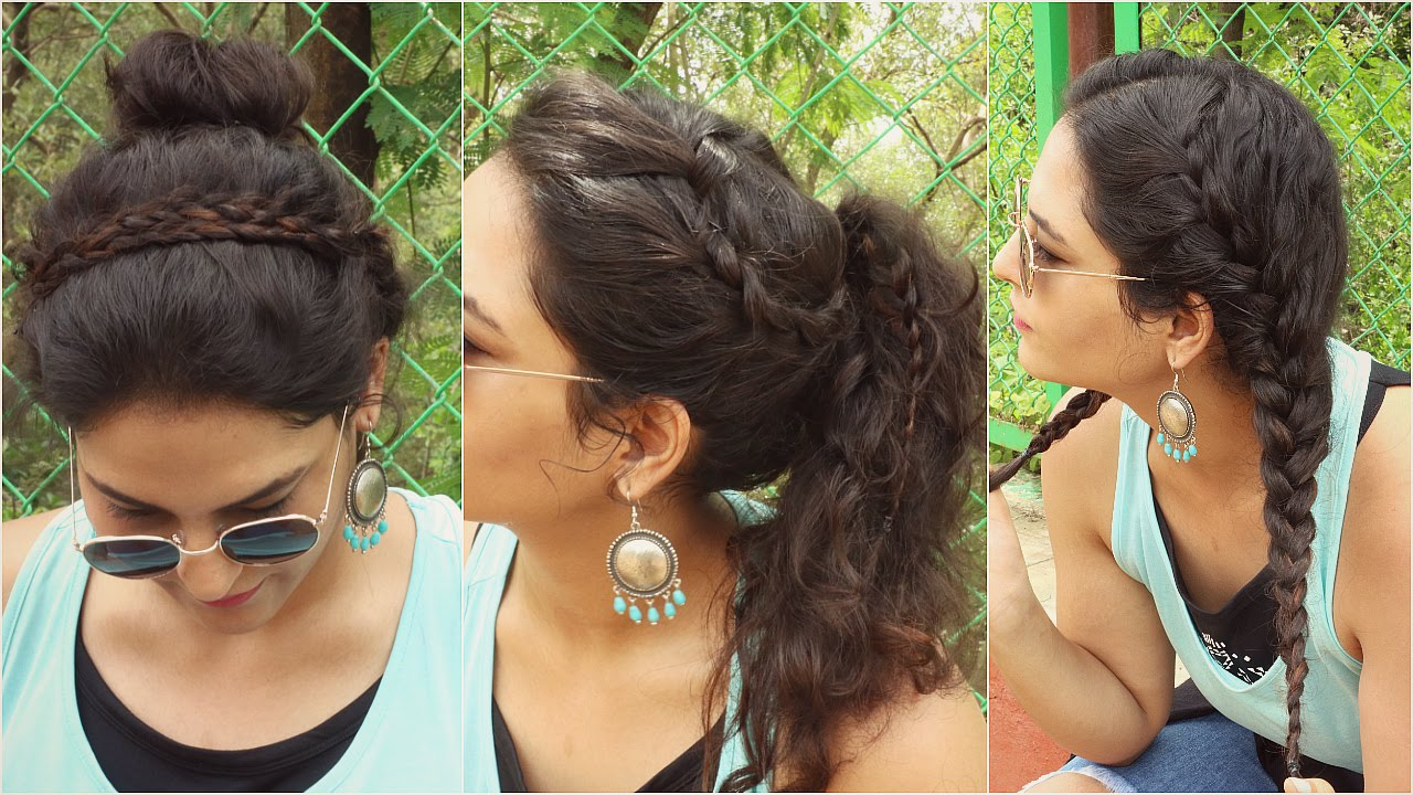 simple 2 minute curly hairstyles