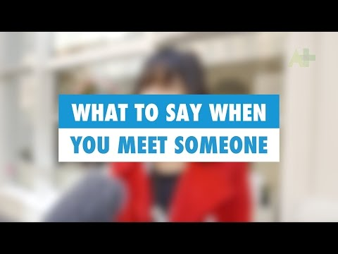 Learn English: What to say when you meet someone - Australia Plus