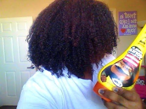 Gorilla Snot Gel On Natural Hair