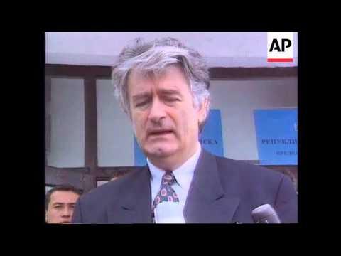 Bosnia - General Rose Visits Pale