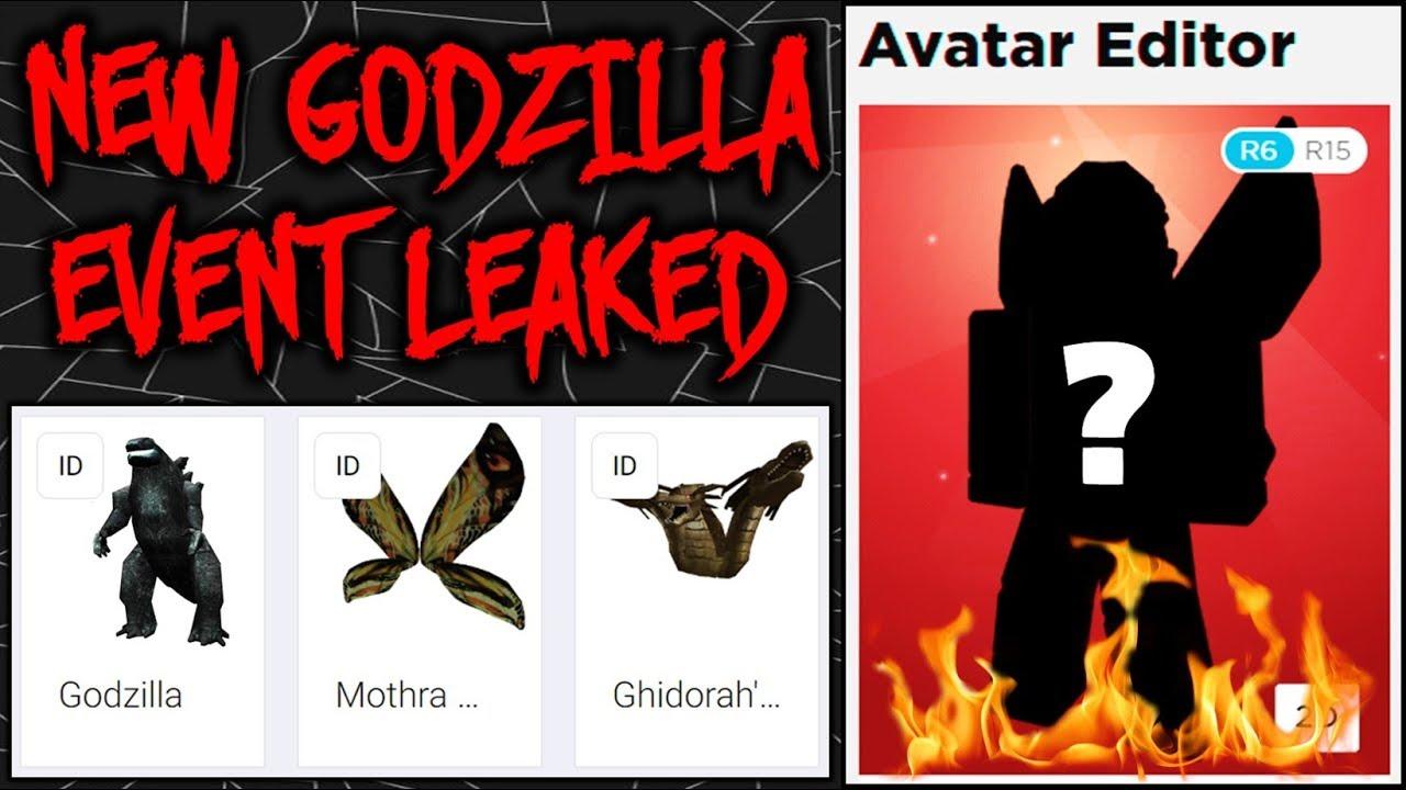 Secret Godzilla 2 Event Prizes Leaks Roblox Event Youtube