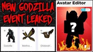 SECRET! Godzilla 2 Event Prizes Leaks! [ROBLOX EVENT]