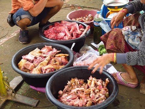Trip Laos Morning Market