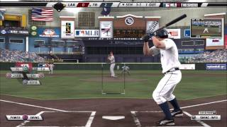 MLB 11 The Show Gameplay - Tampa Bay Rays vs Los Angeles (Anaheim) Angels