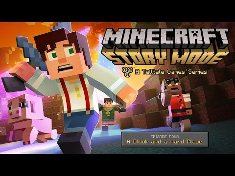 It looks like the world is ending in this Minecraft: Story Mode Episode 4 trailer