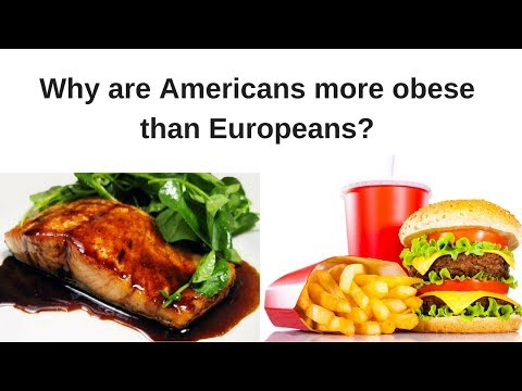 Why Are Americans More Obese Than Europeans?