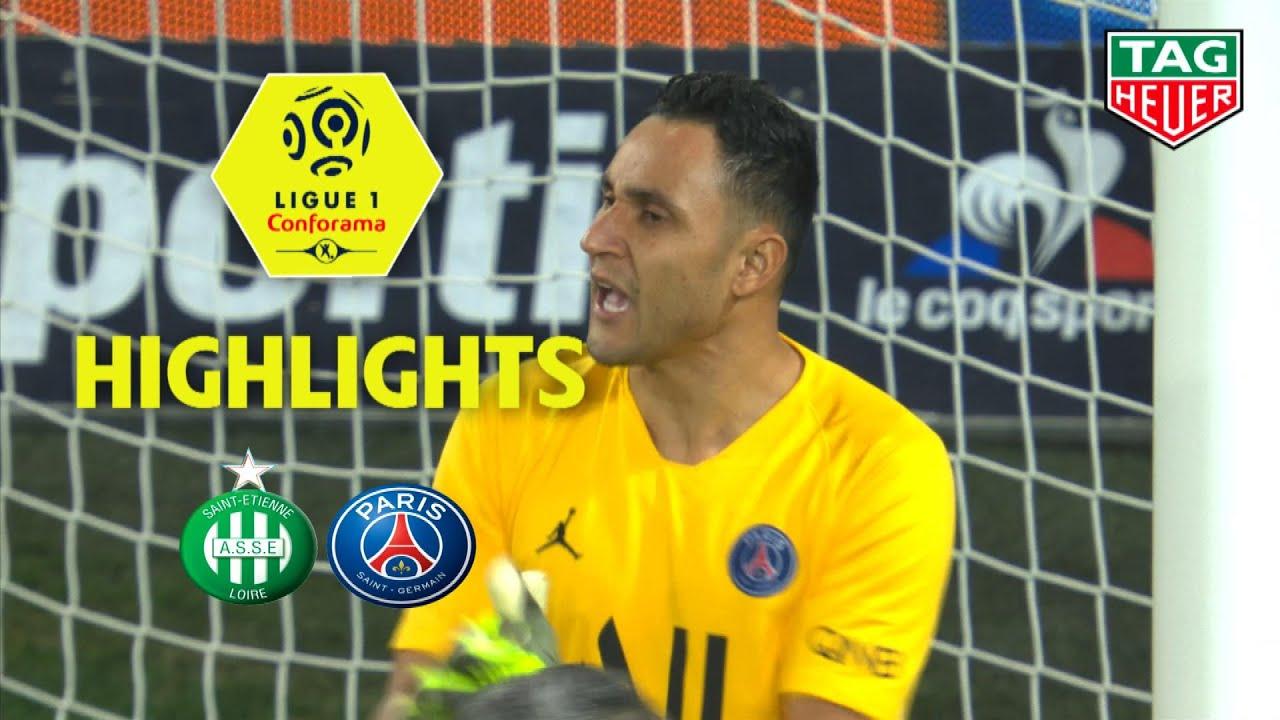 As Saint Etienne Paris Saint Germain 0 4 Highlights