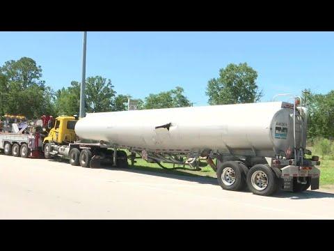 I-10 at U.S. 301 reopens after gas tanker crash