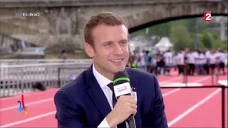 Paris 2024 - Emmanuel Macron :
