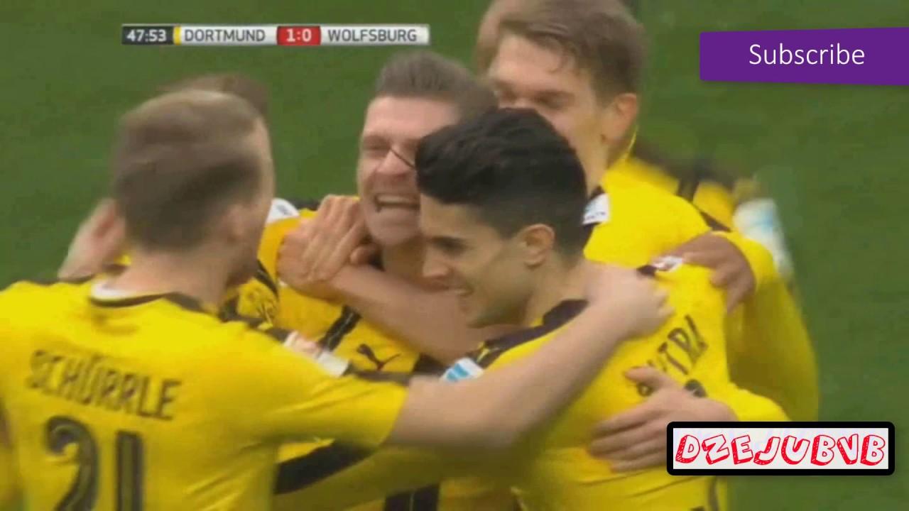 Download Borussia Dortmund vs Wolfsburg All Goals 18.02.2017