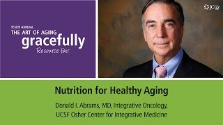 It has become increasingly clear that weight, nutrition and regular physical activity are all components of healthy aging. therefore, lifestyle modification,...