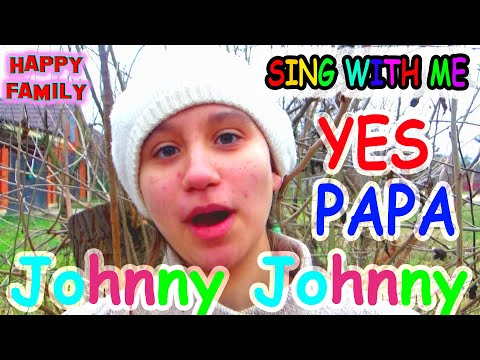 Johnny Johnny YES PAPA Pretend Play Katy Eating Sweets BAD BABY