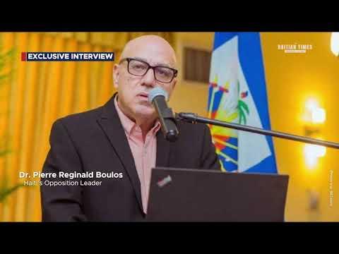 Exclusive Interview with Dr. Pierre Reginald Boulos