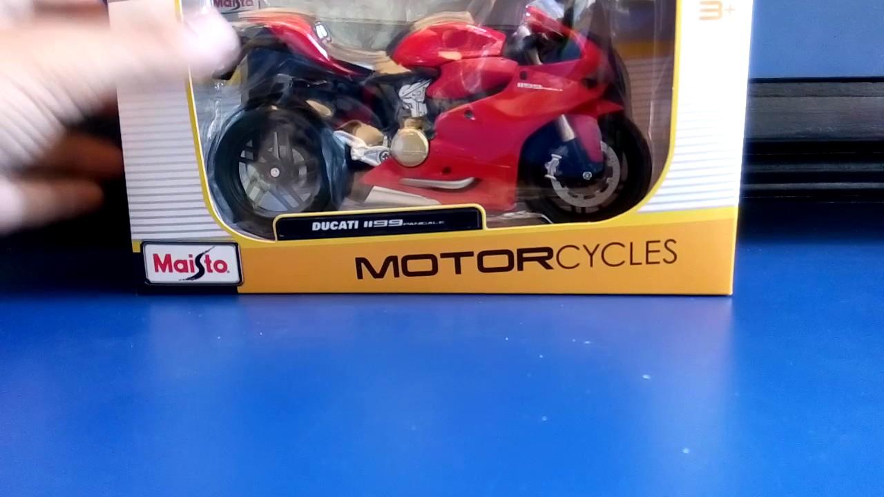 Unboxing Of Maisto Ducati 1199 Panigale Bike Youtube