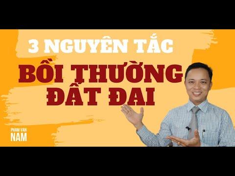 3 nguyên tắc bồi thường đất đai cần phải biết I Phạm Văn Nam